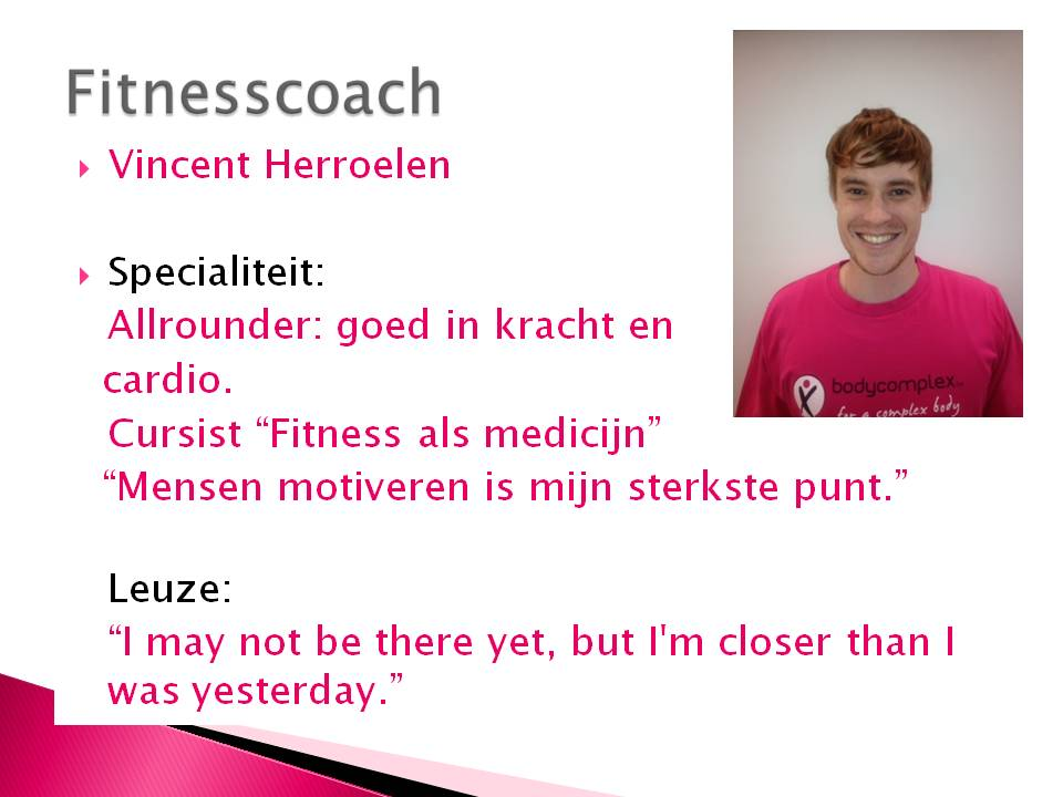 Vincent Herroelen - Bodycomplex - Humbeek - personal coaching